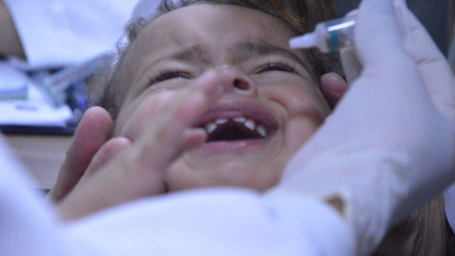 Natal vacina mais de 43 mil crianças contra poliomielite e ultrapassa a meta do ms