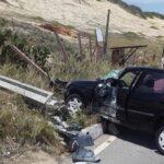 Chuvas causam acidentes na manhã desta quarta-feira na via costeira de natal