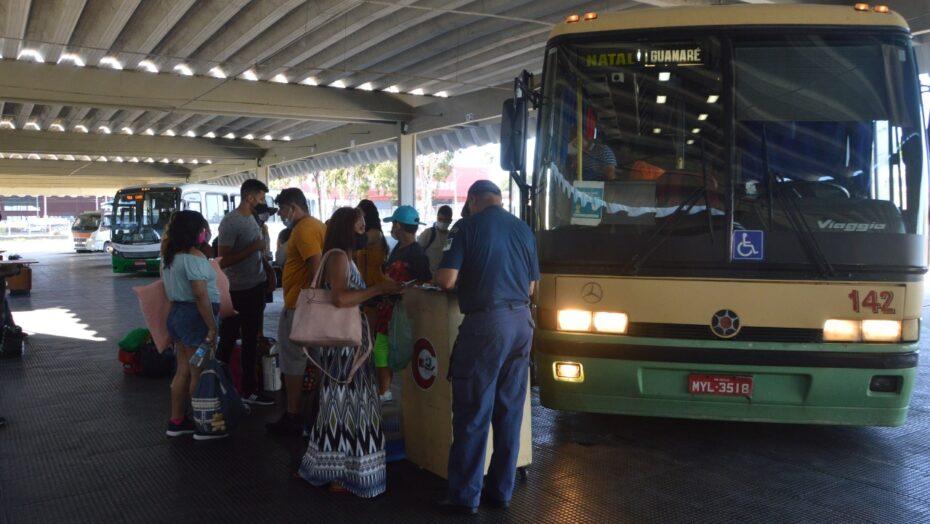 Fluxo de passageiros na rodoviária de natal será 9% no feriadão de fim de ano