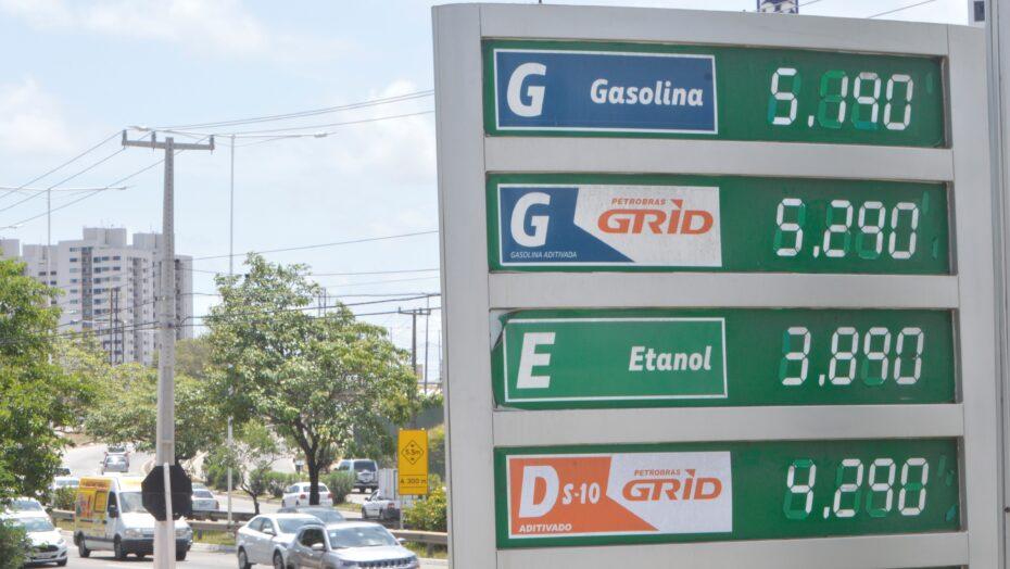 Natal começa semana com a gasolina mais cara entre as capitais do nordeste, diz anp