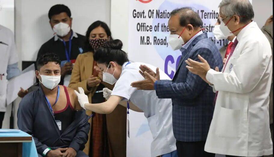 Índia inicia campanha de vacinação contra covid-19