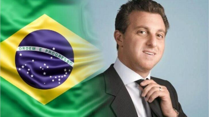 Luciano huck sairá da globo para ser candidato à presidência da república