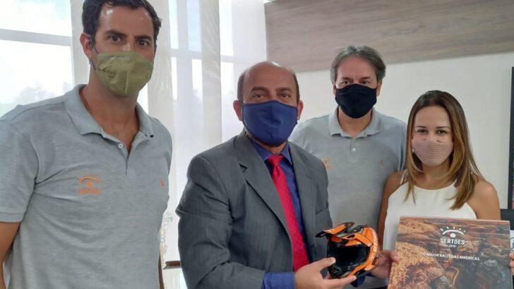 Governo do rn discute parceria para receber rally dos sertões