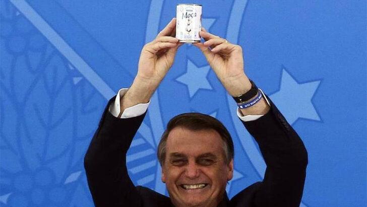"""""""vai para a p… que pariu"""", diz bolsonaro à imprensa sobre leite condensado; veja vÍdeo"""