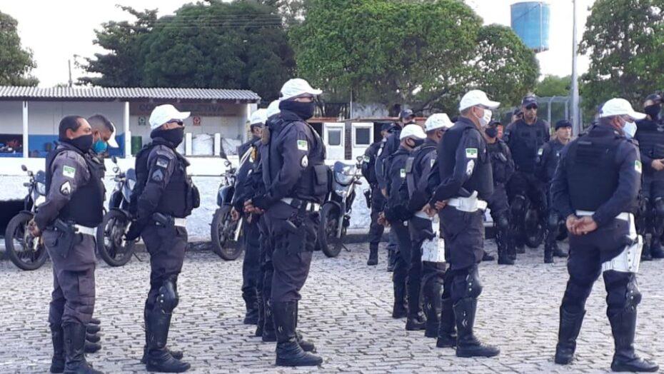 Governo do rn repete esquema de policiamento para garantir segurança  neste 2º dia de provas do enem
