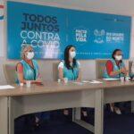 Fátima lança p que vai monitorar a vacinação contra a covid-19 no rn