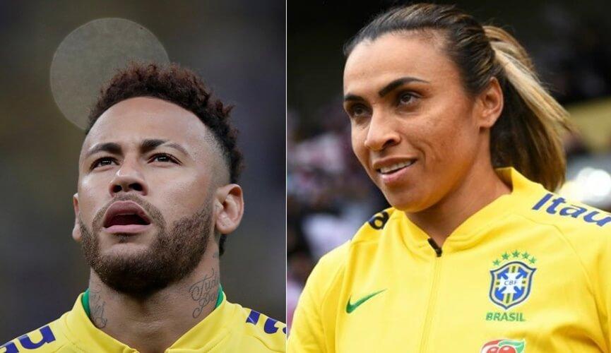 Questão do enem sobre salário de neymar e marta é 'ridícula', diz bolsonaro