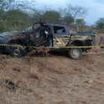 Policial penal morre em acidente durante escolta de preso no rn