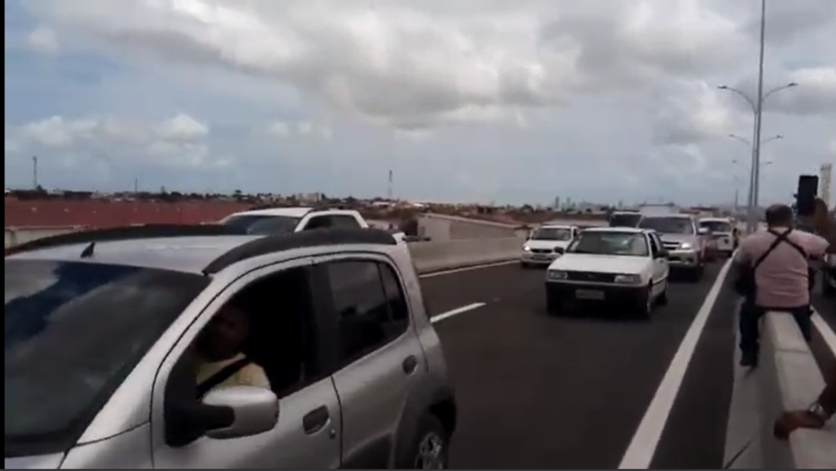 Trecho do gancho de igapó é liberado para o tráfego