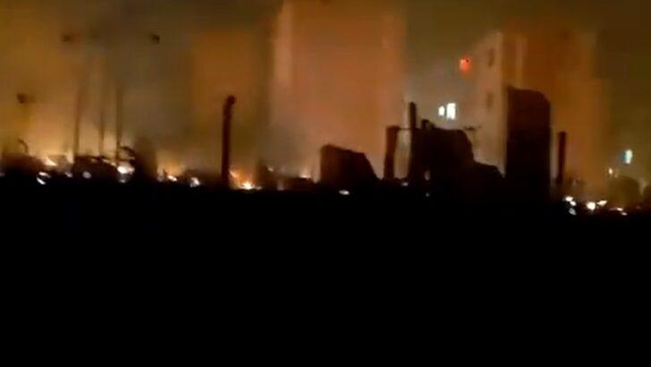 Incêndio em ocupação deixa 250 famílias desabrigadas no rio de janeiro