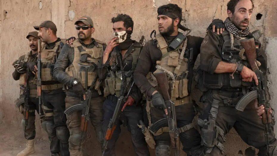 'mossul', na netflix, mostra como uma tropa de elite do iraque combate o estado islâmico