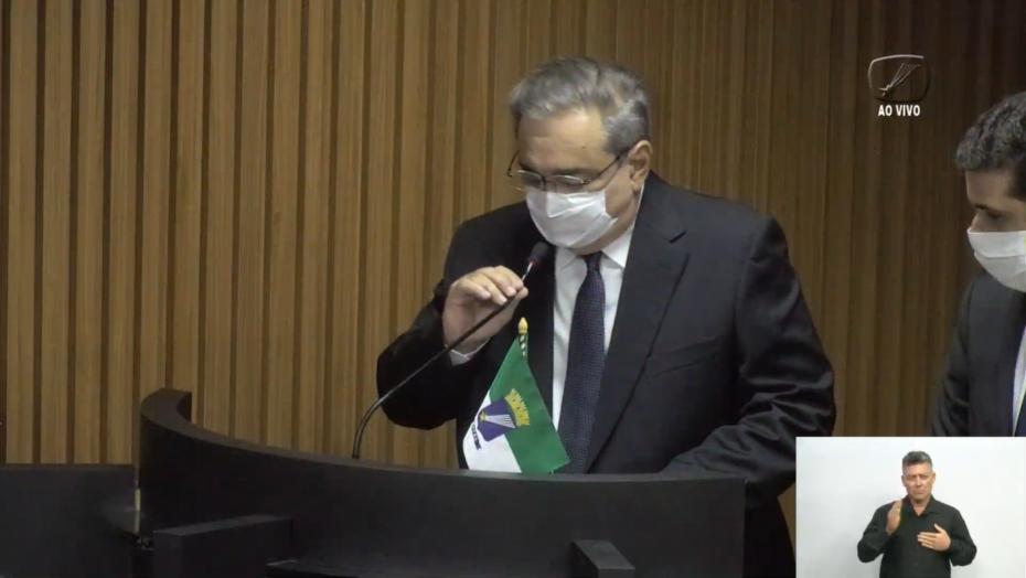 Álvaro dias toma posse como prefeito de natal e relembra ações de combate à pandemia