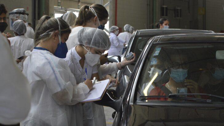 Mais 1,5 mil pessoas já foram imunizadas com a primeira dose da coronavac em natal