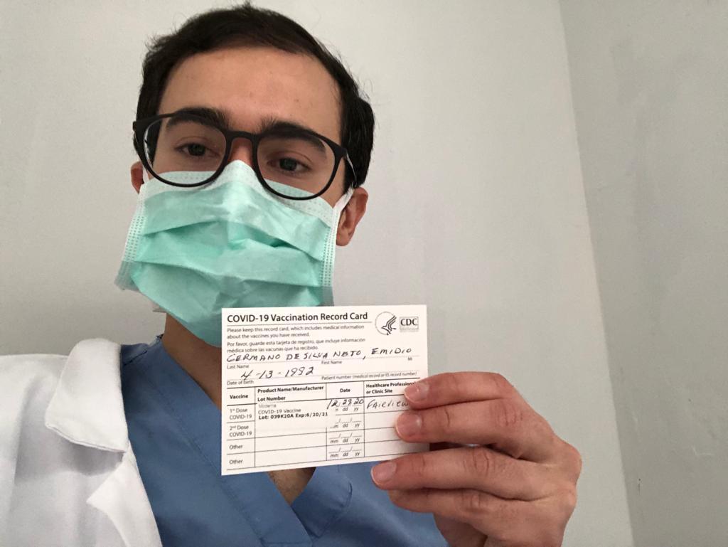 "Potiguar é vacinado contra covid-19 nos estados unidos: ""me sinto privilegiado"""