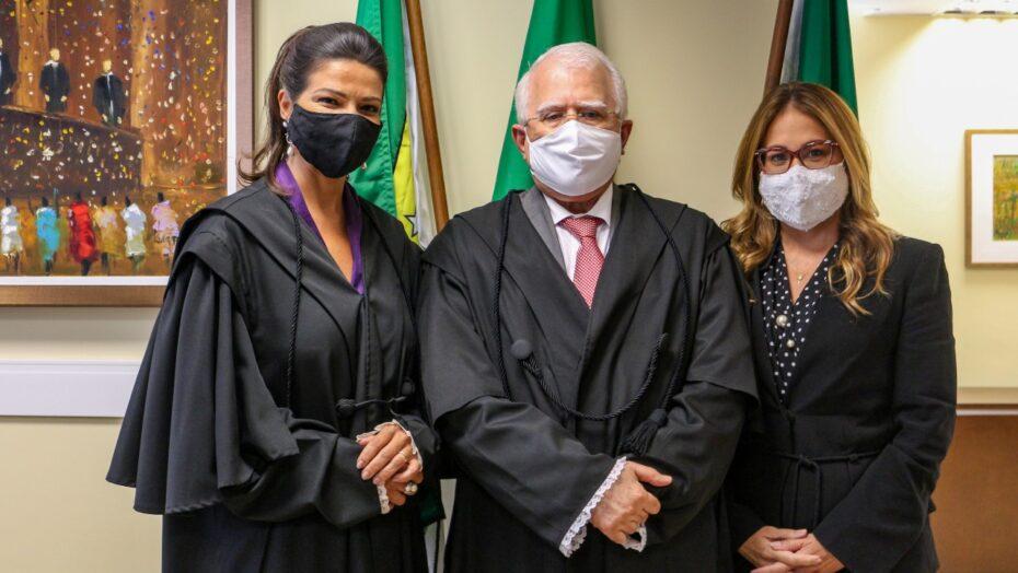 Tre: Érika paiva toma posse na corte e ticiana nobre assume suplência