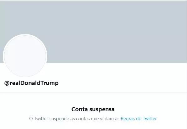Twitter suspende a conta de donald trump permanentemente