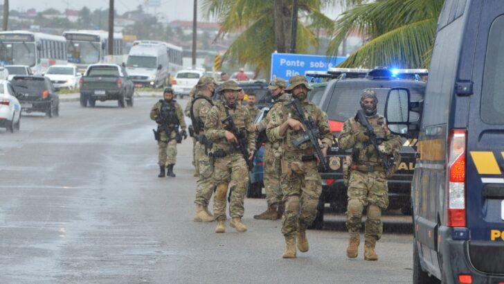 Com helicóptero, forças policiais fazem operação de combate ao tráfico e contrabando na grande natal; vÍdeo