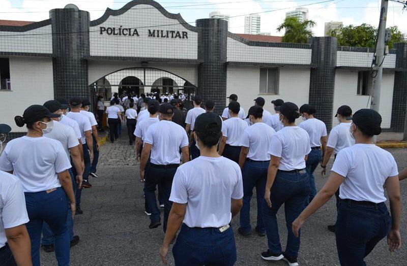 Pm faz cerimônia de apresentação de novos alunos para curso no rn