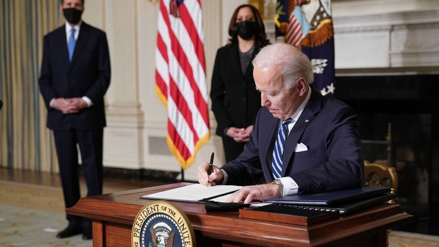 Eua voltam oficialmente a integrar acordo de paris sobre mudanças climáticas