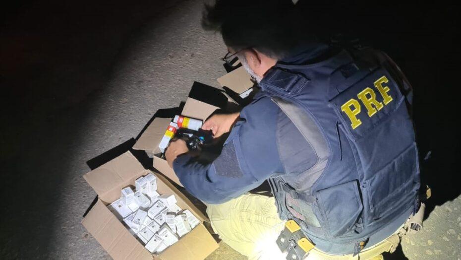 Homem é preso com mais de 200 caixas de anabolizantes no oeste potiguar