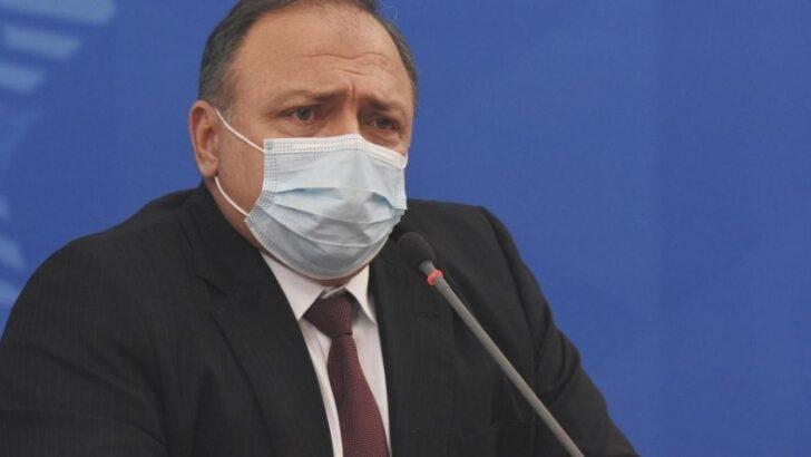 Pazuello alerta sobre nova etapa da pandemia e diz que contaminação por covid-19 está três vezes maior