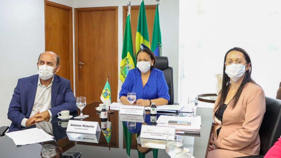 """""""não basta só o calendário"""", diz governadora fátima ao cobrar vacinas a pazuello"""