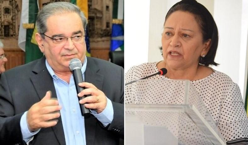 """Com piora da pandemia, governadora Fátima Bezerra sobe tom: """"Não dá para brincar com a morte"""""""