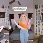Influenciadora descobre traições do namorado e cria 'papel de parede' com conversas