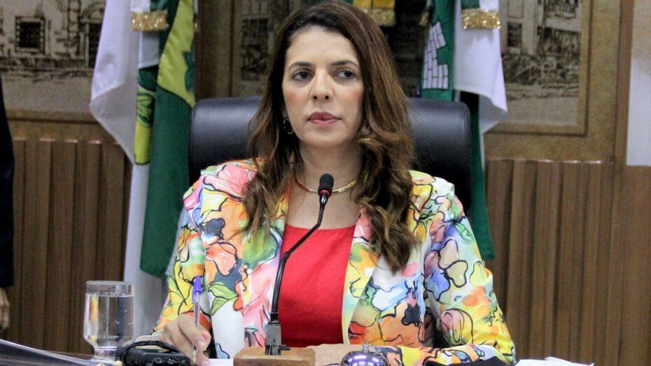 Álvaro dias escolhe a vereadora nina sousa como líder do governo na câmara municipal de natal