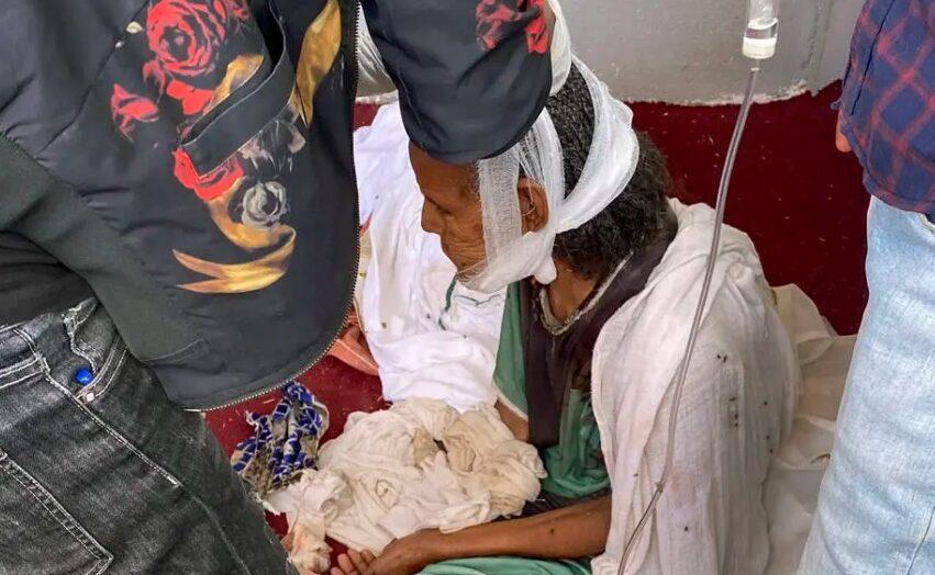 Hienas comeram os corpos de mortos em massacre na cidade mais sagrada da etiópia