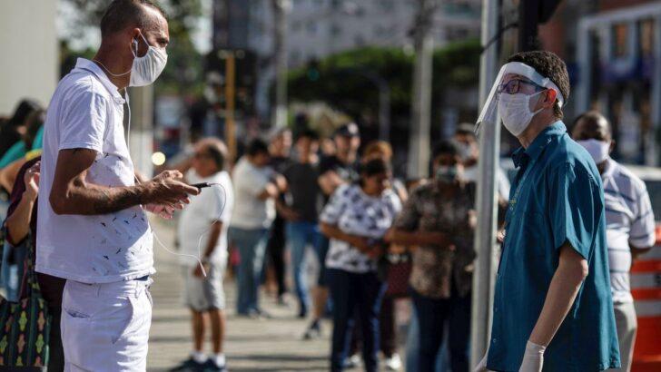 Preocupação com coronavírus aumentou para 52% dos brasileiros
