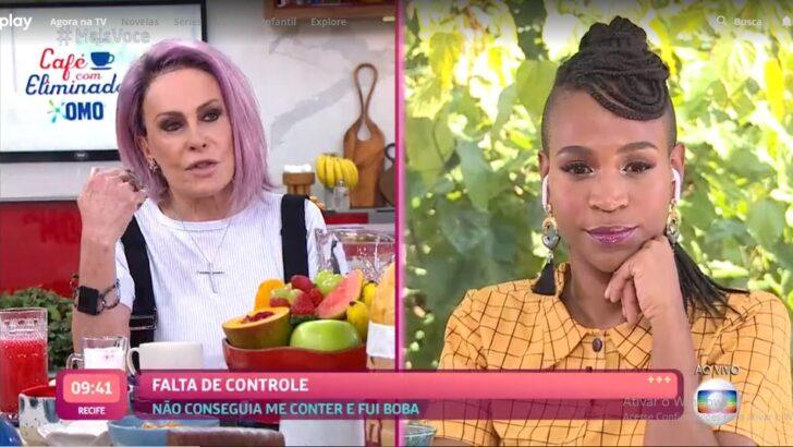 'sou a nova carminha, a nazaré', ironiza karol conká em entrevista com ana maria braga