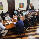 Prefeito de natal e secretários planejam ações preventivas aos efeitos das chuvas