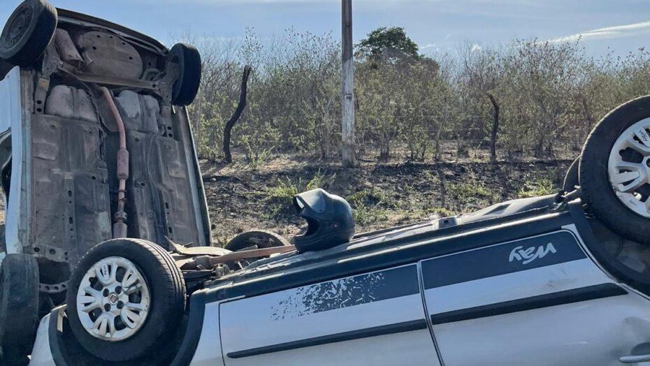 Acidente grave deixa 2 mortos e 4 feridos em rodovia no agreste potiguar