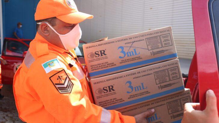 Rn inicia a distribuição de 35 mil doses da vacina de oxford