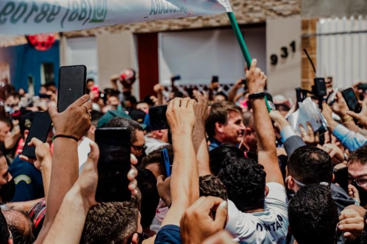 Mpf pode investigar aglomerações ocorridas na visita de bolsonaro ao ceará