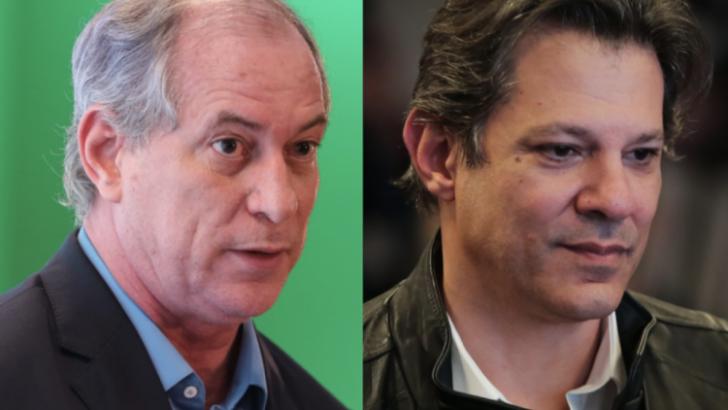 Eleições 2022: ciro e haddad elevam troca de críticas e colocam em xeque frente contra bolsonaro no 1° turno