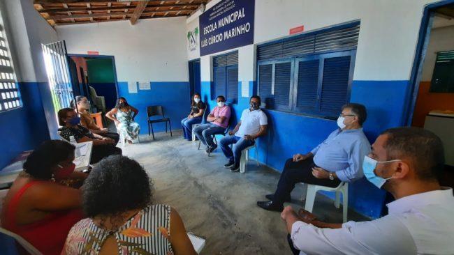 Prefeituras de são gonçalo e macaíba realizam encontros para formalização da criação de escolas indígenas