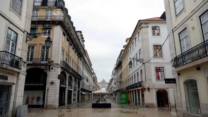Pandemia em portugal completa 1 ano com lockdown para superar 3ª onda