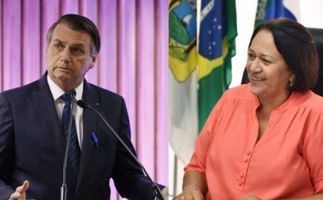 """Fátima e outros 15 governadores afirmam que governo bolsonaro promove """"má informação"""" e """"conflito"""""""