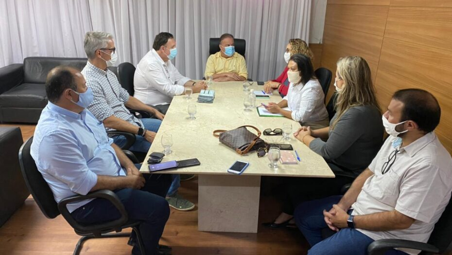 Presidente da câmara recebe presidente da união dos vereadores do brasil