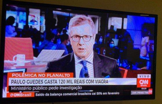 É fake: paulo guedes gasta r$ 120 mil com viagra. entenda