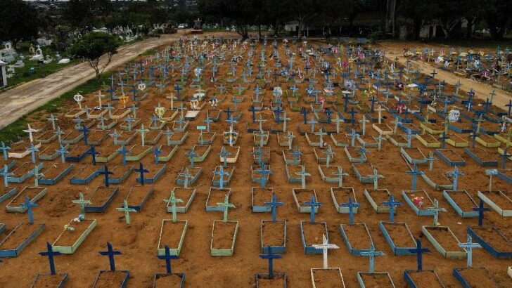 Ministério da saúde prevê até 3 mil mortes diárias por covid-19 em março