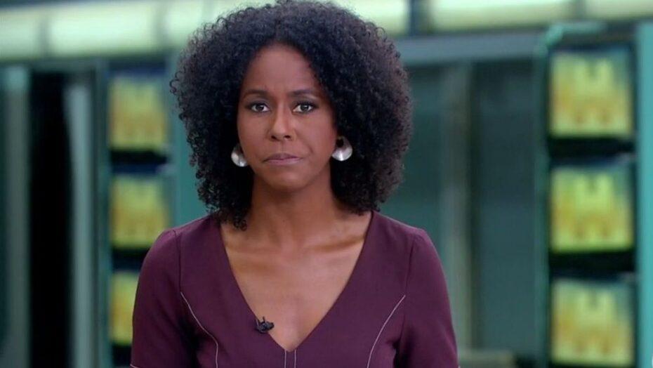 """Tv globo se manifesta sobre comentário feito por maju coutinho no jornal hoje: """"o choro é livre"""""""