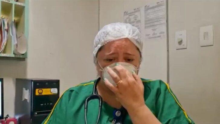 Médica chora ao pedir respeito ao isolamento social: 'não seja o paciente pedindo para não morrer'; veja vÍdeo