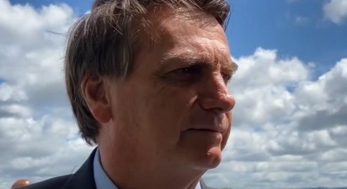 Bolsonaro diz que economia do brasil foi uma das que menos caiu