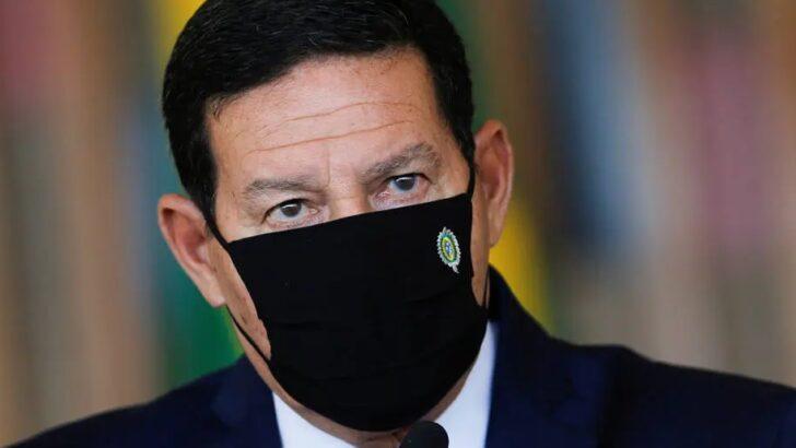 Mourão diz não ver 'lockdown nacional' como melhor estratégia: 'não somos ditadura'
