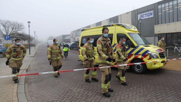 Explosão atinge centro de testes de covid-19 na holanda