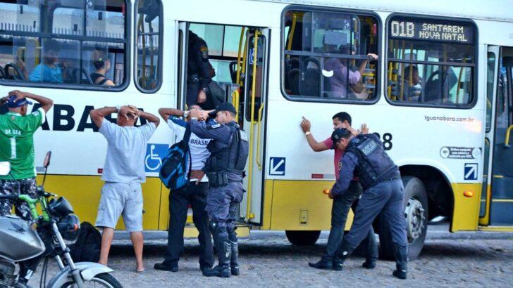 Natal tem redução de 68,75% nos roubos a ônibus