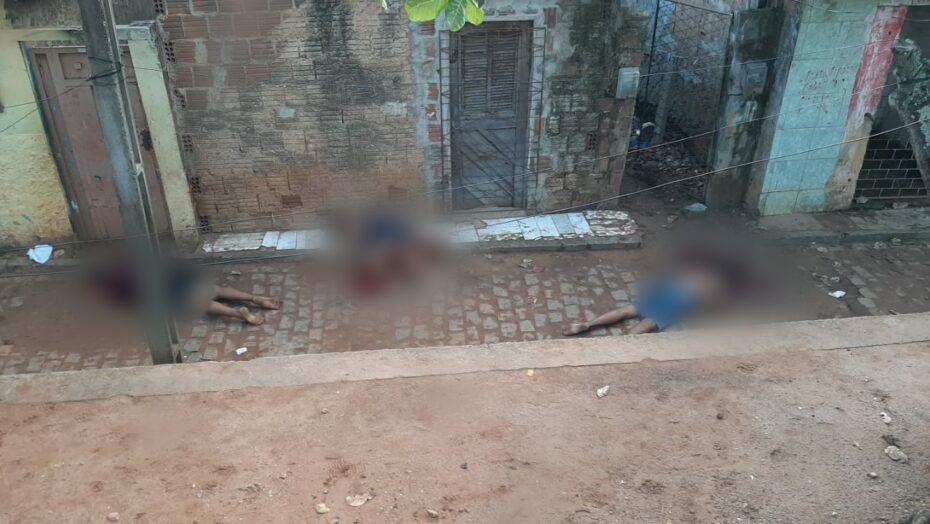 Quatro pessoas são assassinadas em chacina na zona oeste de natal